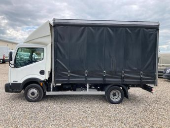 Nissan Cabstar Curtain Sider MWB L2 Pro Chassis Cab 2.5 dCi 35.14 NO VAT