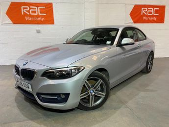 BMW 220 220i Sport 2dr [Nav] Step Auto