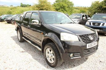 Great Wall Steed 2.0 TD Chrome Pickup 4X4 4dr