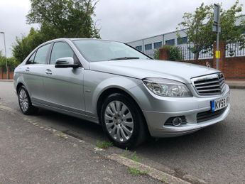 Mercedes C Class 2.1 C220 CDI BlueEFFICIENCY Elegance 4dr