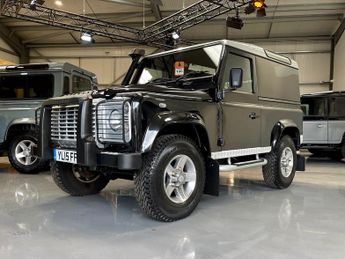 Land Rover Defender 90n XS Hard Top TDCi [2.2] part of a car collection now being so