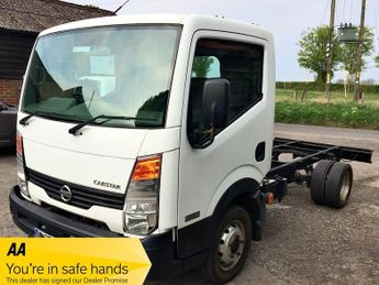 Nissan Cabstar 35.13 MWB 3500 GVW Chassis cab