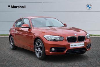 BMW 118 118i [1.5] Sport 5dr [Nav/Servotronic]