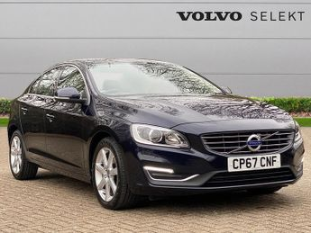 Volvo S60 D4 [190] Se Lux Nav 4Dr Geartronic
