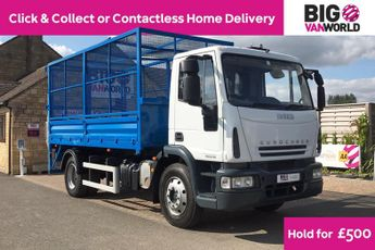 Iveco Eurocargo Ml140e18s Euro 4 14ton Hgv 15ft5 Caged Tipper With Tail Lift Tru