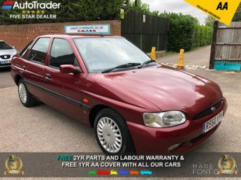 Ford Escort LX 16V 115PS LOW MILES FSH WITH 2 TIMING BELT REPLACEMENTS 1 FOR