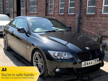 BMW 320 320i M SPORT Black Leather Excellent Spec and Condition Full Ser
