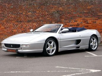 Ferrari 355 GTS Spider F1 - UK Example - Ferrari FSH - Rare Colour Combinati