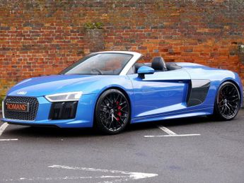 Audi R8 V10 Spyder S-Tronic quattro - VAT Qualifying - Big Specification