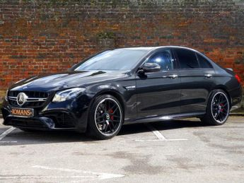 Mercedes E Class AMG E 63 S 4MATIC+ Drivers+Night+Assist Pack&More