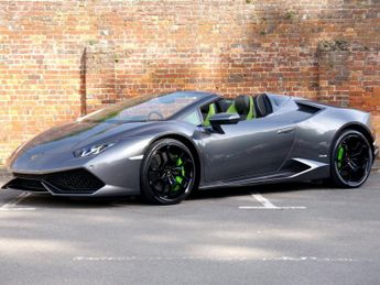 Lamborghini Huracan LP 610-4 Spyder - 1 Owner - VAT Qualifyuing - Carboceramic Brake