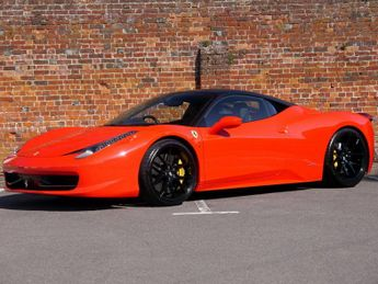 Ferrari 458 DCT Auto - Ferrari FSH - Sport Exhaust - SOLD SIMILAR CARS WANTE