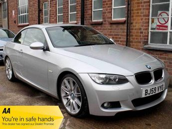 BMW 320 320i Convertible 50,000 miles M Sport Highline 19 inch Alloys Fu