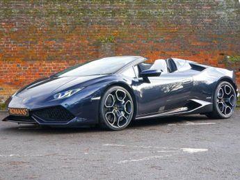 Lamborghini Huracan LP610-4 SPYDER - 1,100 Miles!
