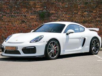 Porsche Cayman GT4 3.8 Manual - Porsche Warranty Until 2022 - 918 Carbon Bucket