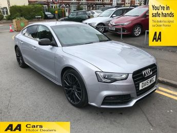Audi A5 SPORTBACK TDI S LINE BLACK EDITION PLUS