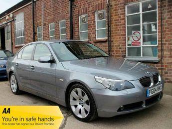 BMW 545 545i SE Automatic 4 Door Saloon Silver Grey Alloys Air Con Sat N