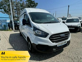 Ford Transit 300 LEADER ECOBLUE EURO 6 1 OWNER INTERIOR SCREEN