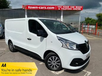Renault Trafic SL27 BUSINESS PLUS DCI S/R P/V TURBO & RECON ENGINE JUST FITTED