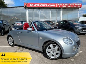 Daihatsu Copen COPEN -ONLY 71993 MILES, SERVICE HISTORY, RED LEATHER TRIM, ELEC