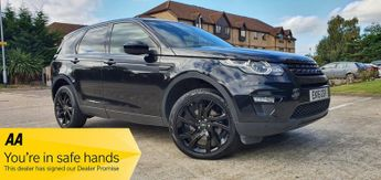 Land Rover Discovery TD4 HSE BLACK