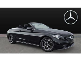 Mercedes C Class C200 AMG Line Edition Premium 2dr 9G-Tronic Petrol Cabriolet